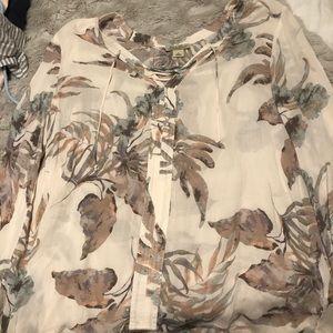 Long sleeve blouse!